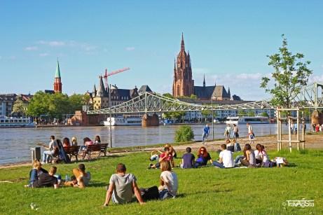 Mainufer, Frankfurt am Main, Germany