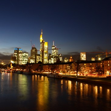 Better than its reputation – Frankfurt on the Main!