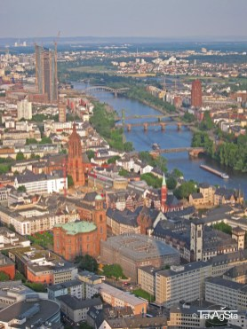 View from Main Tower, Frankfurt am Main, Germany