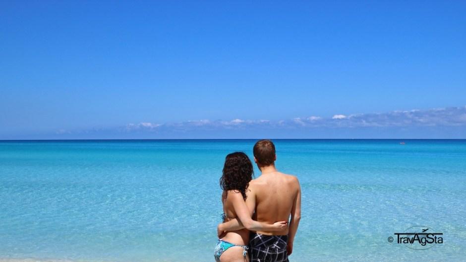 50 shades of blue! - Varadero, Cuba