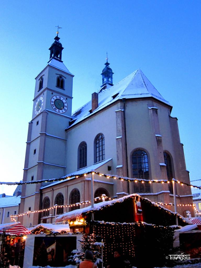Christmas Market, Regensburg, Germany