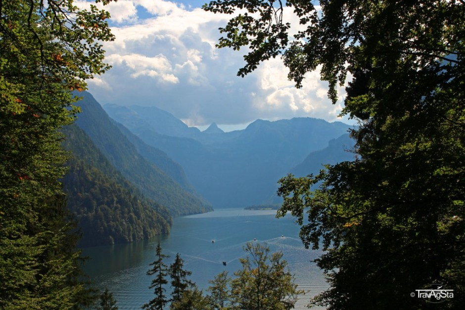View from Malerwinkel, Königssee, Bavaria, Germany