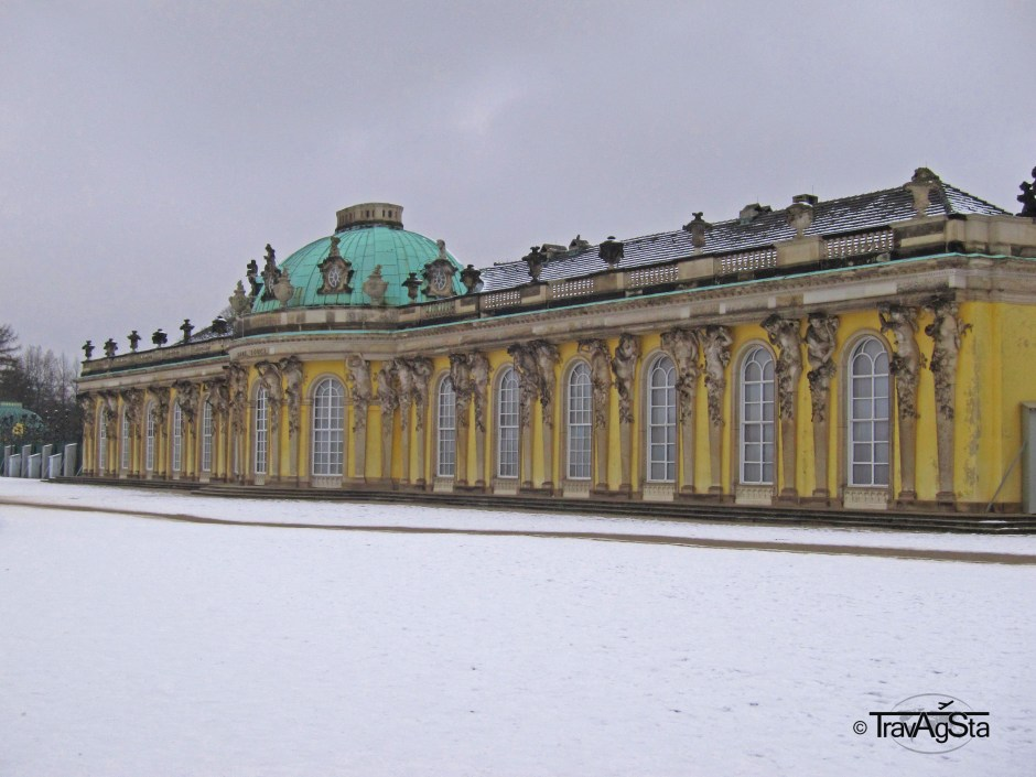 Sanssoucis Castle, Potsdam, Brandenburg, Germany