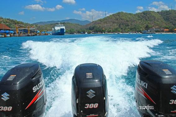 Boat trip, Gili Trawangan, Indonesia