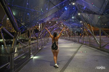 Helix Bridge, Singapore