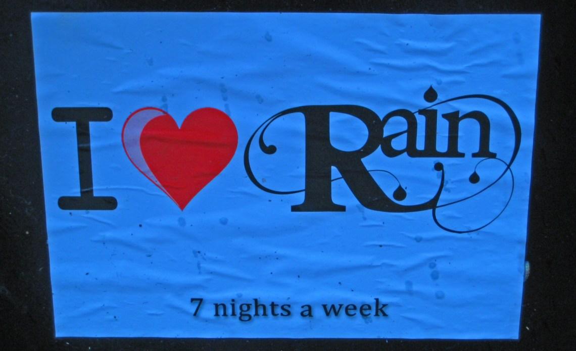 I love Rain, Dublin, Ireland