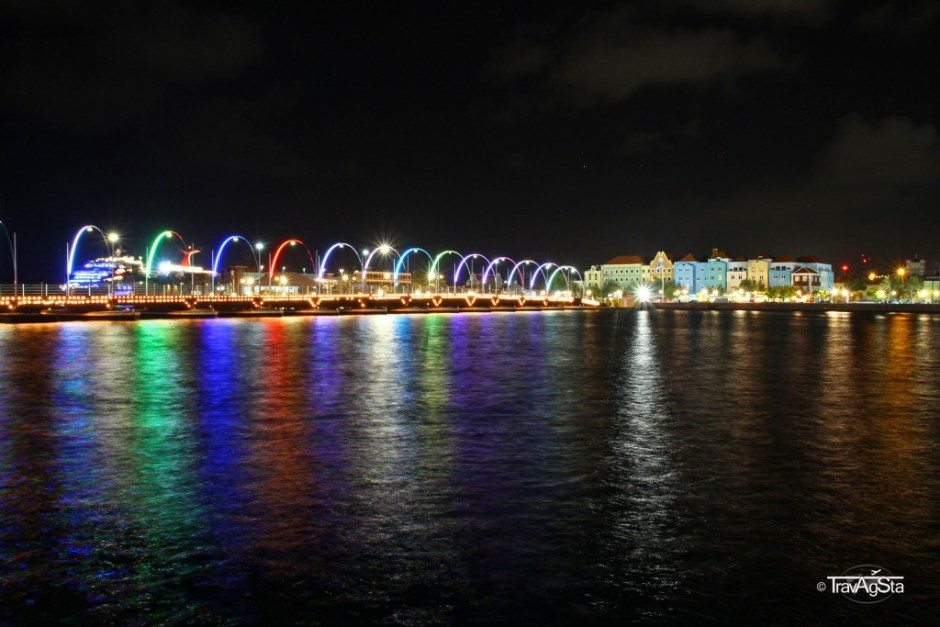 Queen-Emma-Bridge, Willemstad, Curaçao
