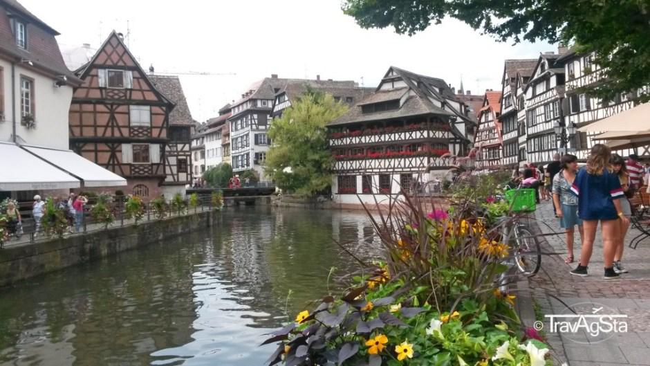 La Petite France , Strasbourg, Alsace, France