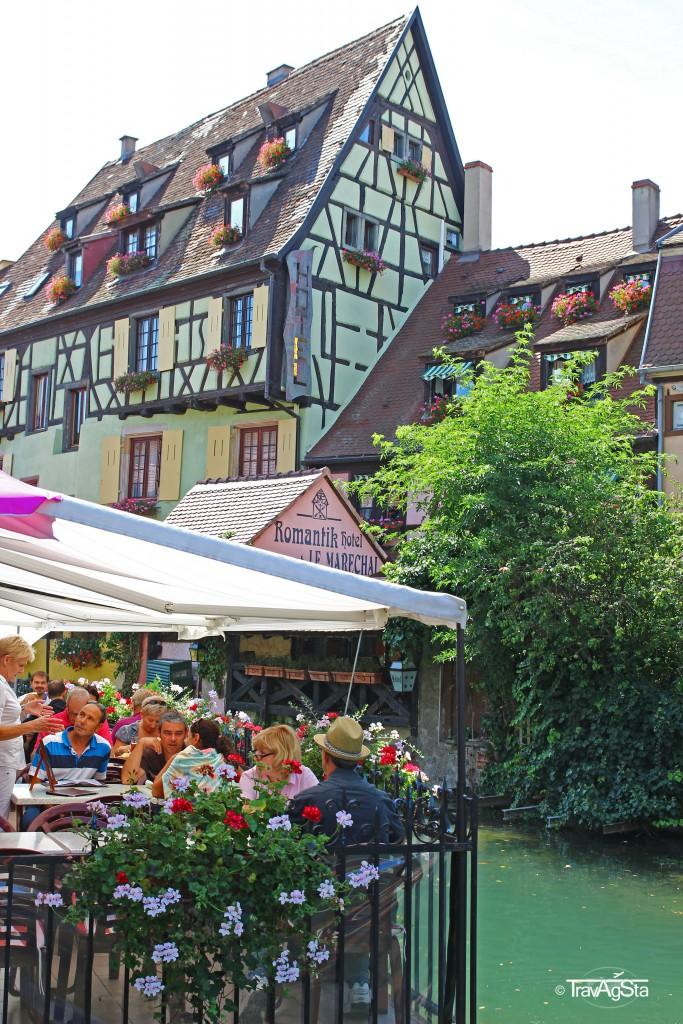 Le Petit Venise, Colmar, Alsace, France