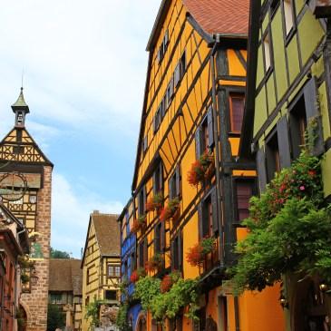 Riquewihr  –  The Alsatian model village!