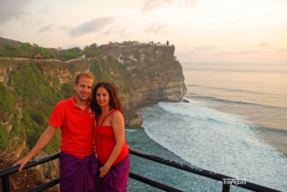 Pura Luhur Uluwatu, Bali, Indonesia