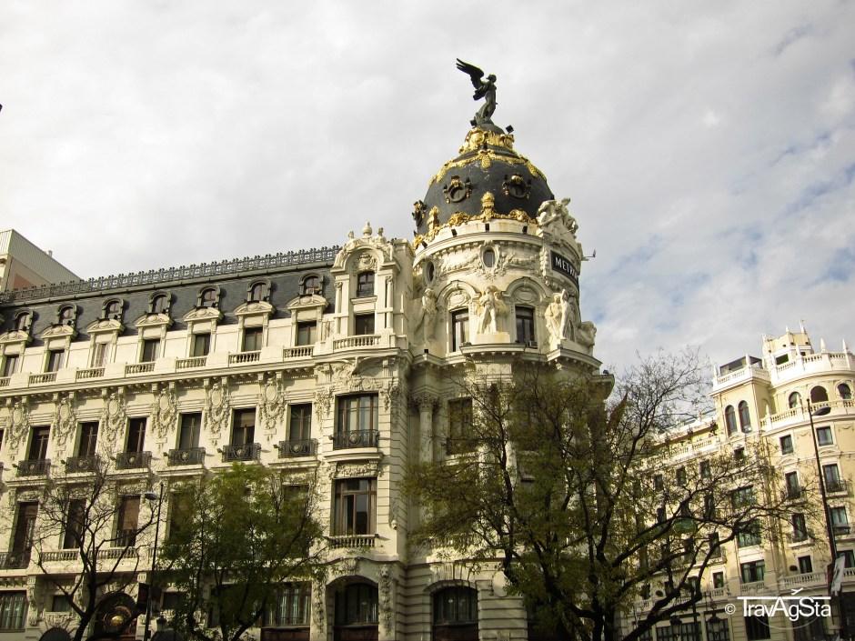 Metropolitan, Gran Via, Madrid Spain