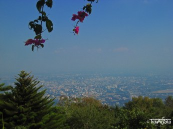 View over Chiang Mai from Doi Suthep, Chiang Mai, Thailand