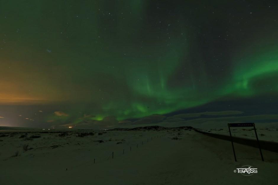 Northern Lights, Þingvellir, Iceland