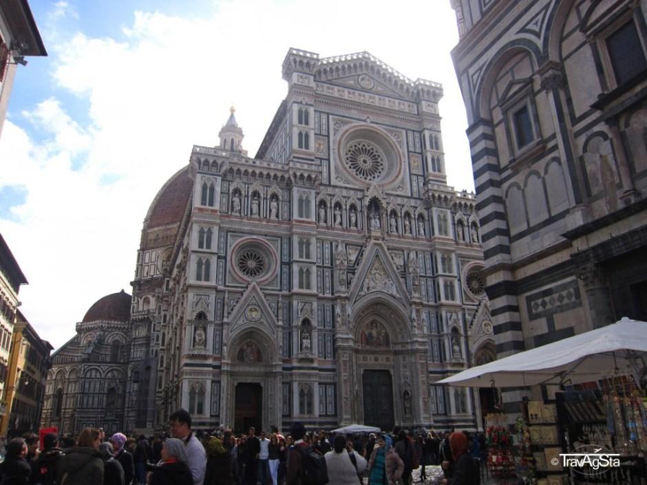 Santa Maria del Fiore, Piazza del Domo, Florence, Tuscany, Italy