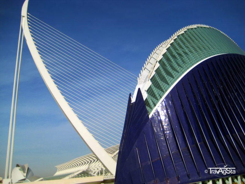L'Agora, Ciutat de les Arts i de les Ciències, Valencia, Spain