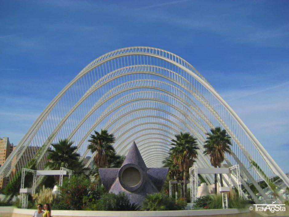 L'Umbracle, Ciutat de les Arts i de les Ciències, Valencia, Spain