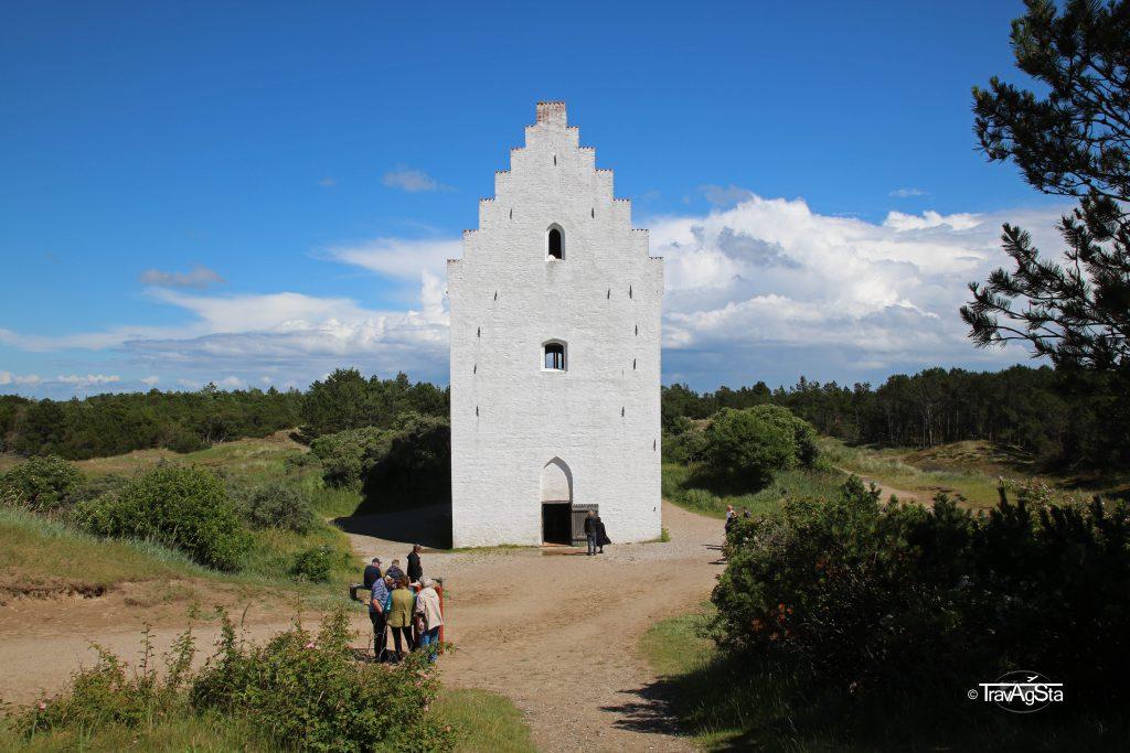 The Sand-Covered Church, Skagen, Denmark
