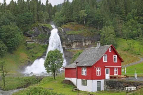 Steinsdalsfossen, Hardangefjord, Norway