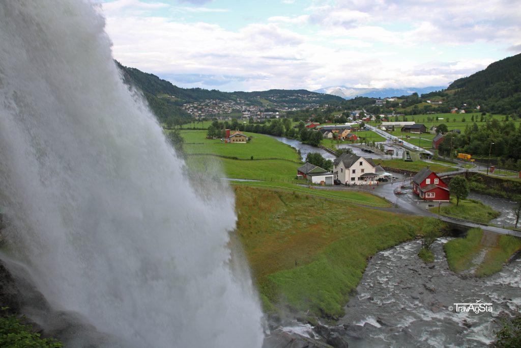 Steinsdalsfossen, Hardangerfjord, Norway