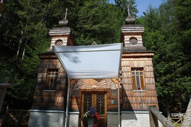 Russian Orthodox chapel, Triglav National Park, Slovenia