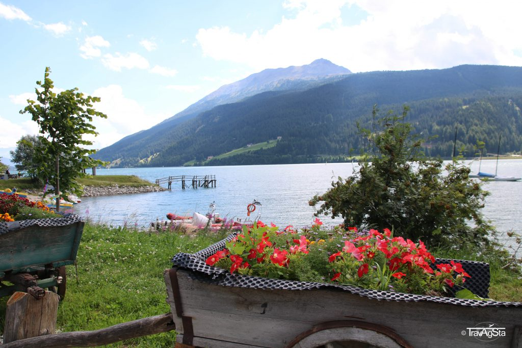 Reschensee/ Lago di Resia, South Tyrol, Italy