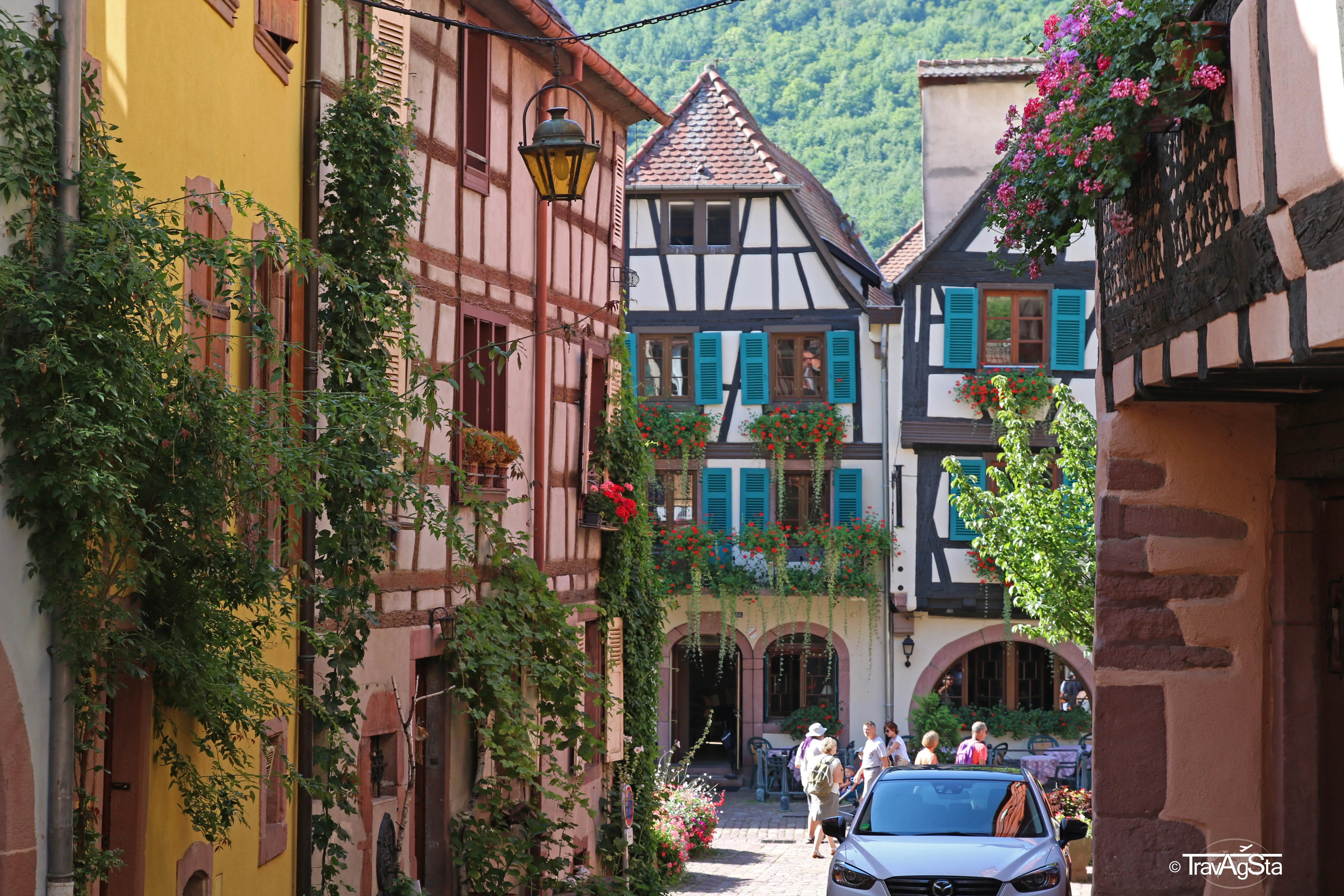 Half timbered houses in Europe!
