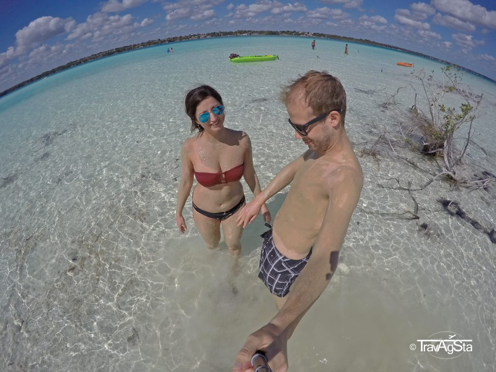 Laguna de Bacalar, Quintana Roo, Mexico