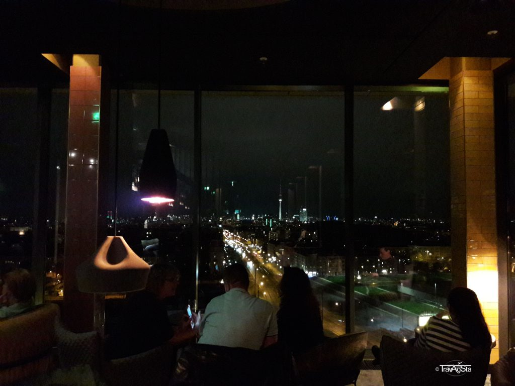 Skybar at andel's Hotel, Berlin, Germany