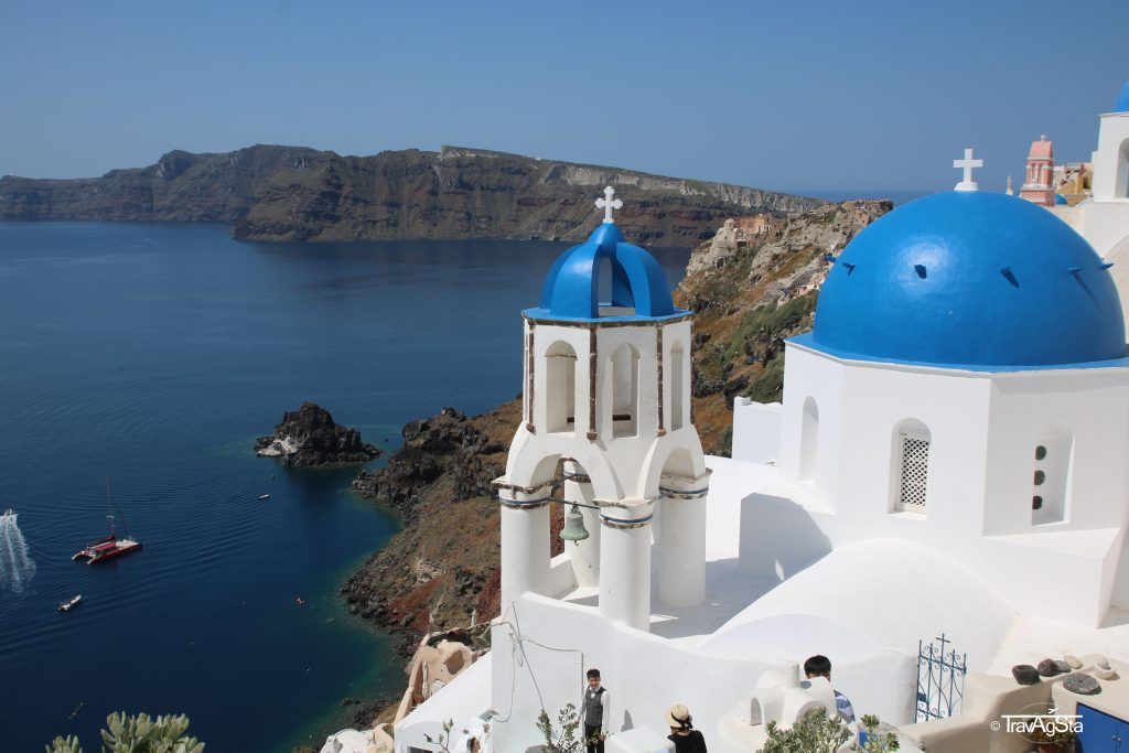 Oía, Santorini, Greece