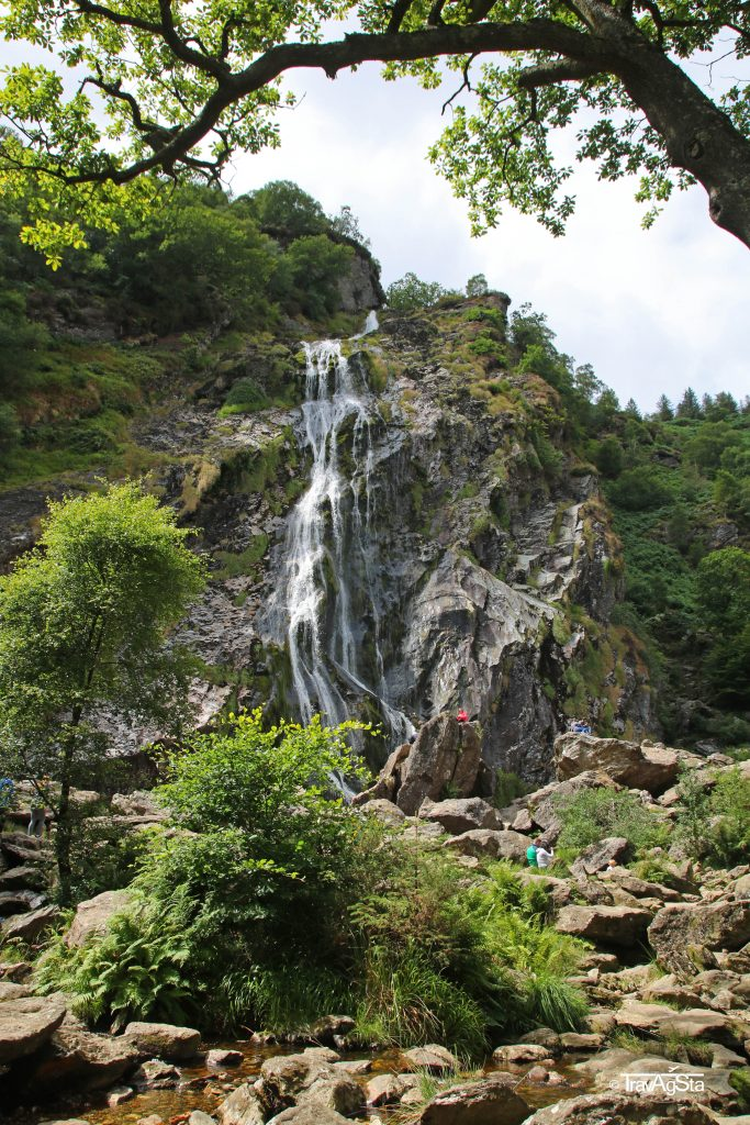 Powerscourt Waterfall, Wicklow National Park, Ireland