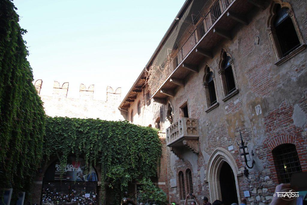 Casa di Giuletta, Verona, Italy