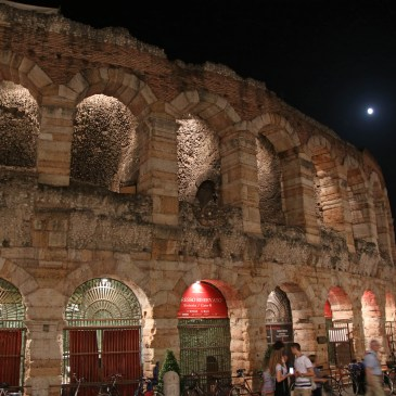 Beautiful Verona – but never again in August!