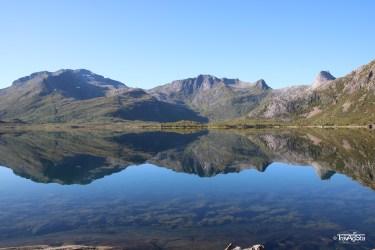 Vatterfjordpollen, Lofoten, Norway