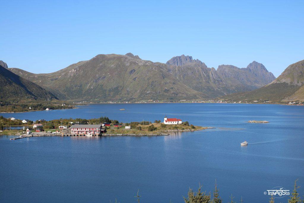 Austnesfjorden, Lofoten, Norway