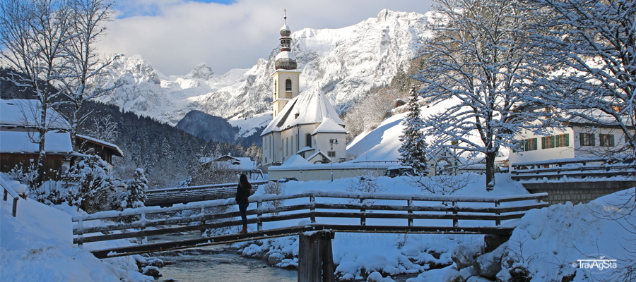 Bavaria, lakes and snow – we found Winter Wonderland in Berchtesgadener Land!