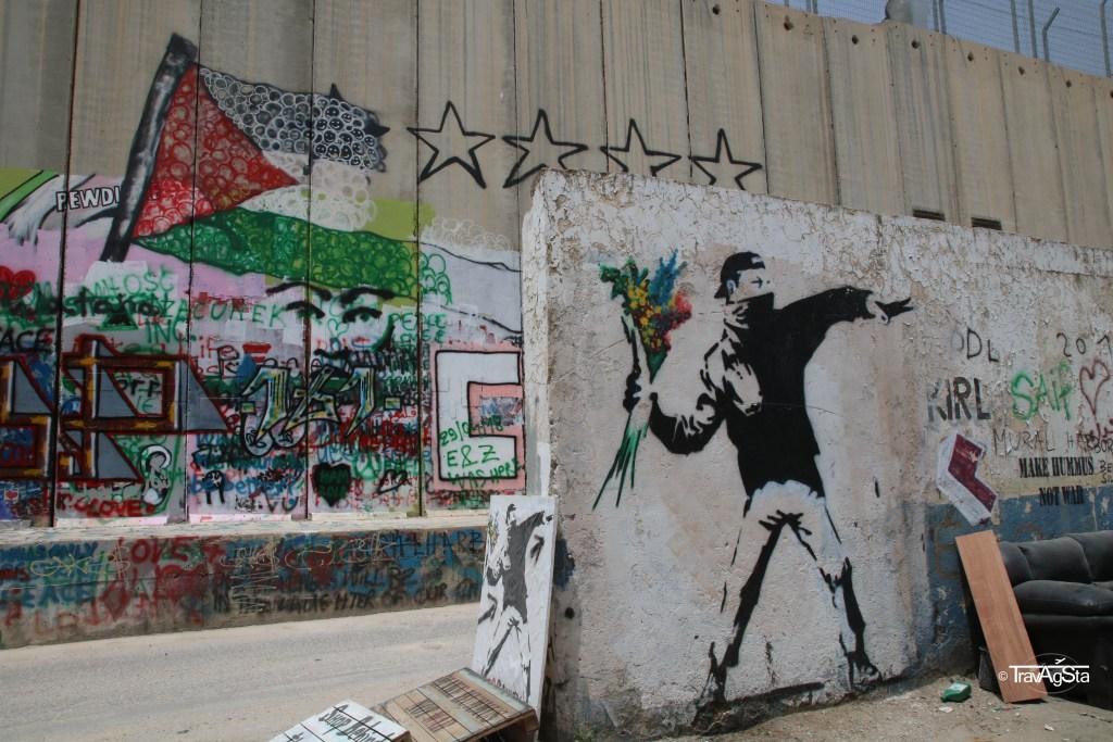 Peace Wall, Bethlehem, West Bank