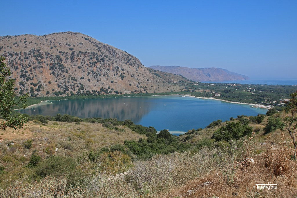Kournas Lake, Crete, Greece