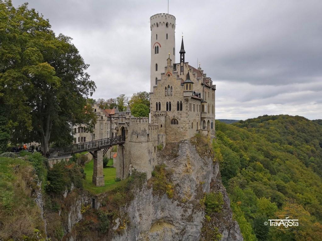 Schloss Lichtenstein/ Lichtenstein Castle, Baden-Württemberg, Germany
