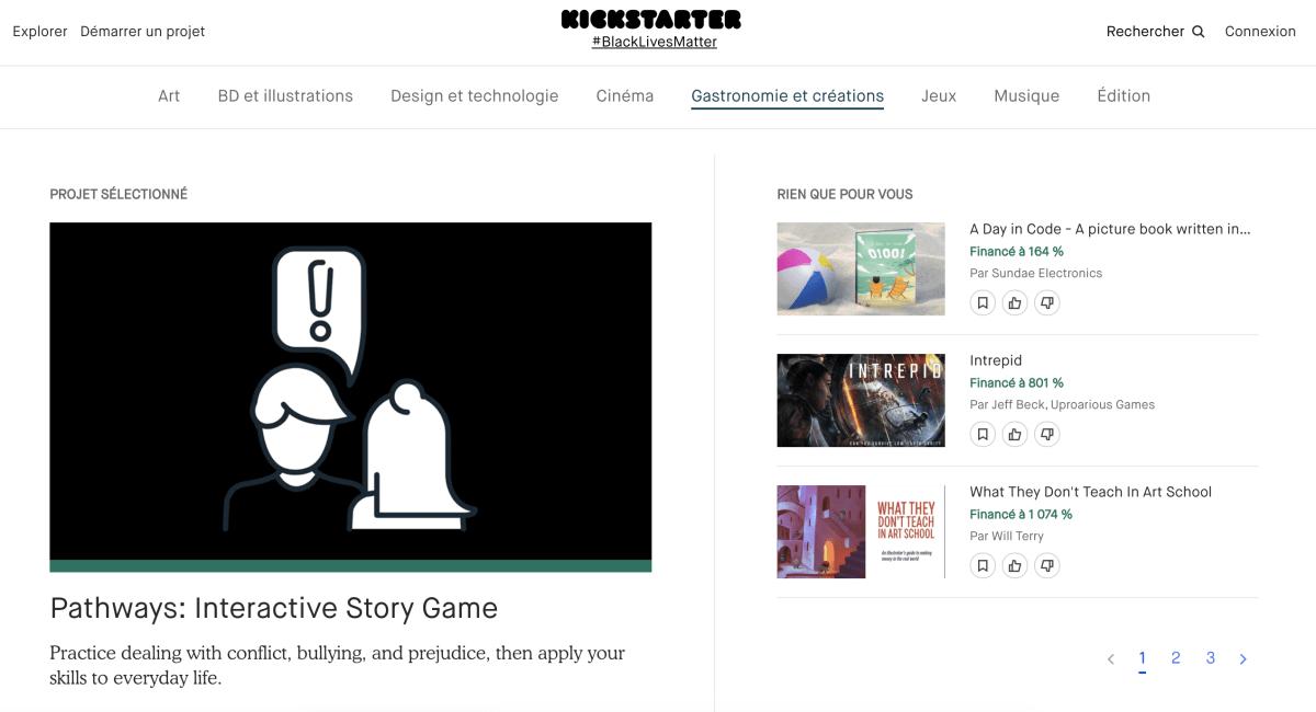 financement participatif Kickstarter