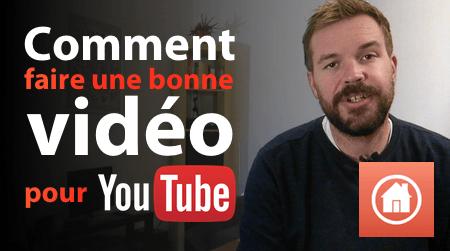 vidéo pour youtube