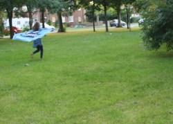 Go Canoeing Flag Run Blurry3