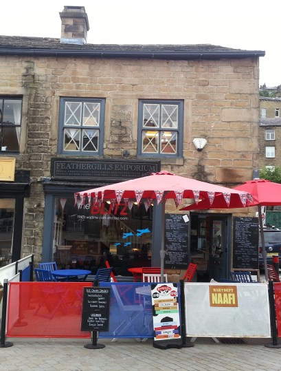 The Blitz - wartime cafe