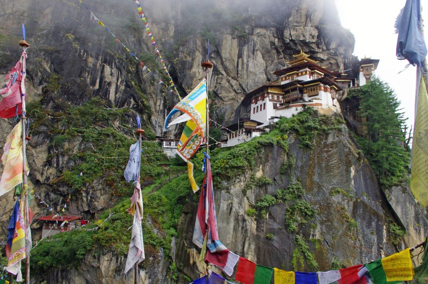 best places to travel in january bhutan