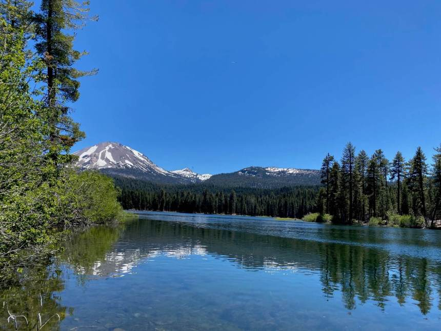 day trip to lassen manzanita