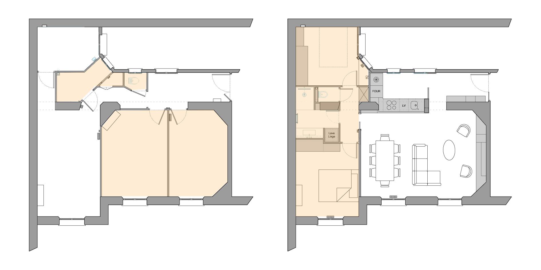 plan de votre appartement