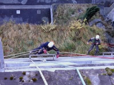 travaux sur cordes Hautes-Pyrénées