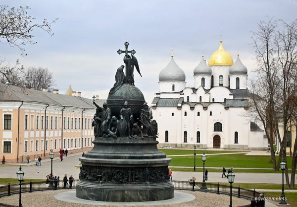 Достопримечательности Великого Новгорода на карте что
