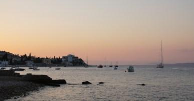 Sunset on Spetses
