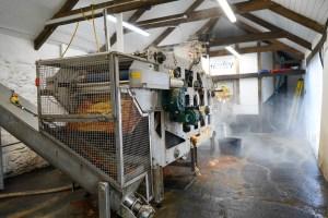 Apple Press at Healey's Cyder Farm